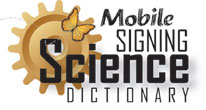 Signing Science Dictionary